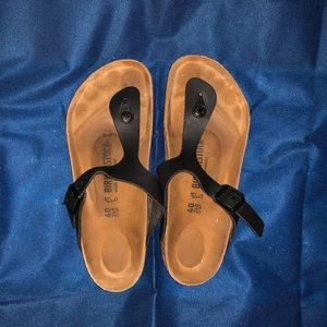 Birkenstock Gizeh Leather Sandals